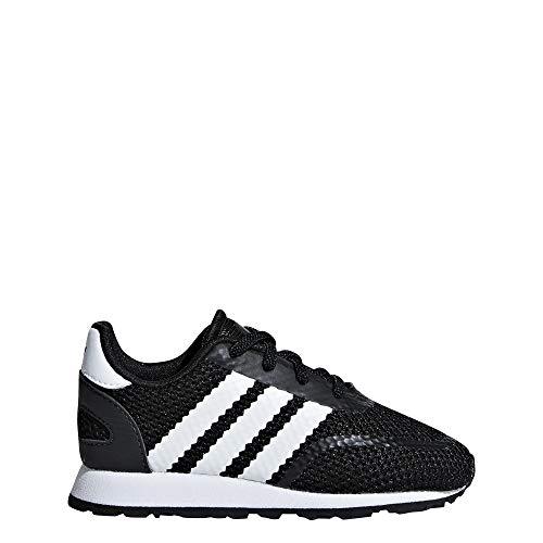 adidas N-5923 El I, Scarpe da Fitness Unisex-Bambini, Nero Ftwbla/Negbás 000, 23 EU