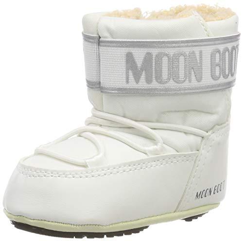 Moon-boot Unisex Baby Crib 2 Stiefel, Weiß (Bianco 002), 17/18 EU