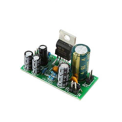 TDA2030A Módulo de Amplificador de Potencia de Solo Canal Placa de Amplificador de Potencia de Audio 18W DC 9-24V DIY Kit