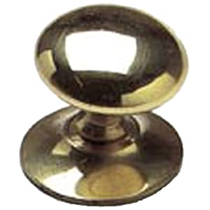 Merriway® BH01009 Brass Victorian Cupboard Cabinet Door Knobs, 38mm (1.1/2 inch)- Pack of 20