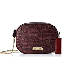Isle Locada by Hidesign Women's Sling Bag (Purple)