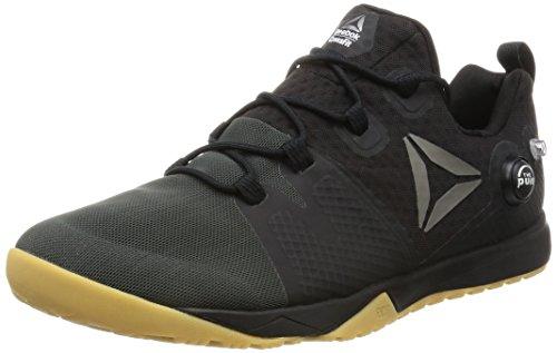 Reebok Herren Crossfit Nano Pump 3.0 Schuhe Indoor-Multisport, Schwarz (Black/Coal/Classic White/Gum/Pewter), 40.5 EU