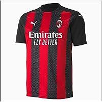 PUMA ACM Home Shirt Replica Camiseta, Hombre, Tango Red Black, XL