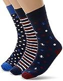 Original Penguin Herren Socken MSHPE1165STM, (Black Blue), One Size