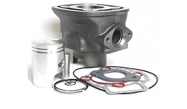Zylinder Und Kolben 50ccm Piaggio Lc 4 Eckig Für Piaggio Quartz 50 Auto