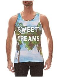 T-Shirt Débardeur Homme imprimé SWEET DREAMS