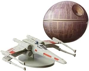 dekoback 01 14 00506 tortendeko star wars x wing 2 teilig k che haushalt. Black Bedroom Furniture Sets. Home Design Ideas