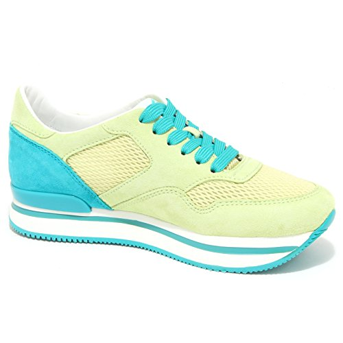 6417N sneaker HOGAN H222 lime verde scarpe donna shoes women Lime/Verde