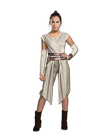La Force réveille, fantaisie pour femme déguisement Star Wars Deluxe Rey, petit, USA (6–10), poitrine 91,4–96,5cm Taille 68,6–76,2cm 73,7cm couture intérieure