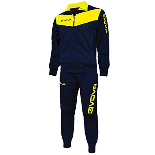 Givova  suit visa  blue yellow  L