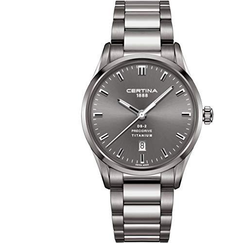 Certina Men's DS-2 40mm Titanium Bracelet Quartz Watch C024.410.44.081.20