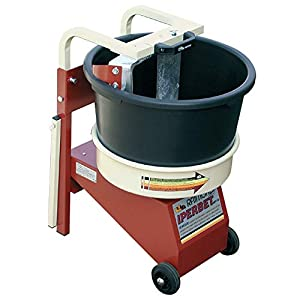 41iEvae4lfL. SS300  - Amasadora IPERBET - Aspas fijas y cubo rotante - Para amasar cemento cola, monocapa, morteros,..