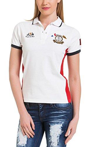 Giorgio Di Mare - Polo - Multicolore - Femme Blanc blanc Large Blanc - blanc