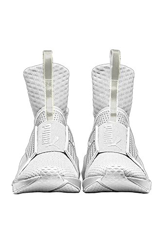 Puma Womens Fenty Trainer Running Shoes White-white