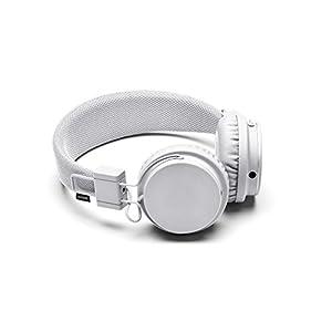 Urbanears Plattan - Auriculares con diadema (ZoundPlug, 115 dB, 20 Hz-20 kHz, conector de 3.5 mm), color blanco