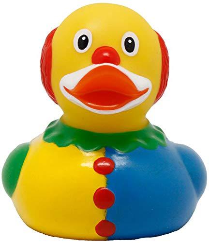 LILALU lustige Clown Badeente | Quitsche-Ente | Gummiente | Quietscheentchen | Quietscheente | Zirkus Show Clown Ente / 1900