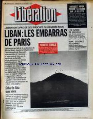 LIBERATION [No 2927] du 20/10/1990 - BOU...