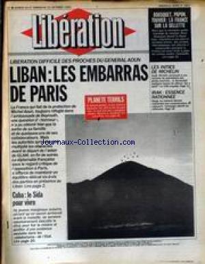 LIBERATION [No 2927] du 20/10/1990 - BOUSQUET - PA...