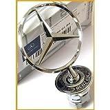 Mercedes-Stern Kühlerfigur für Mercedes C E S CLK Original-Kühlerfigur Mercedes-Stern
