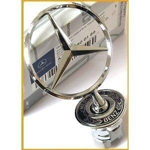 Badge embleme etoile capot Mercedes C E S CLK Genuine Bonnet Badge Star