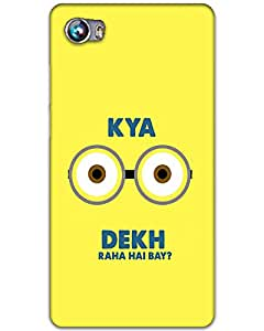 Webplaza Micromax Canvas Fire 4 A107 Back Cover Designer Hard Case Printed Cover