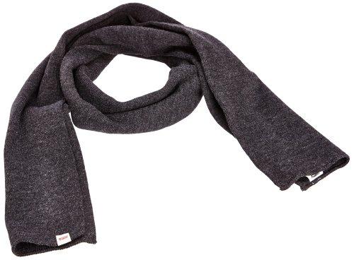 Levi's® LIMIT Echarpe, Gris (Dark Grey 56), one size Mixte