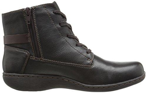 Clarks Fianna Tara Boot Brown Wlined Leather