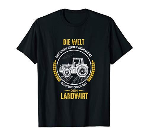Herren Die Welt hat einen Helden gebraucht Landwirt T-Shirt Bauer