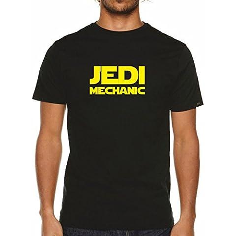 Para hombre Jedi soporte para reparación T-camiseta de manga corta - Negro de la guerra de las