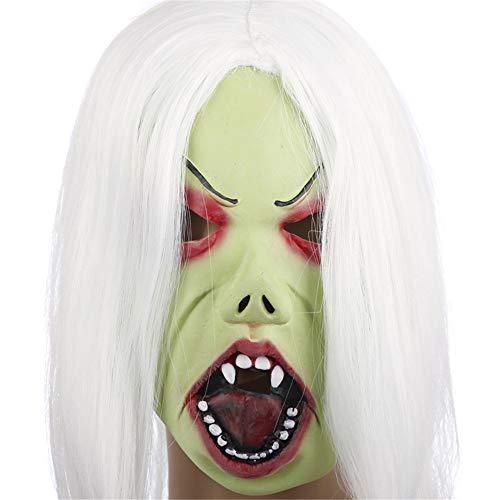 WXH Scary Zombie Halloween Masken |, Horror Biochemical Monster Kostüm Cosplay Party Masken, Vampire Kostüme Erwachsene und Kinder Make-up Prom - Scary Monster Kostüm