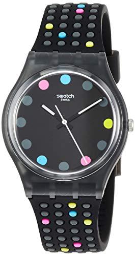 Swatch Orologio Analogico Quarzo Donna con Cinturino in Silicone GB305