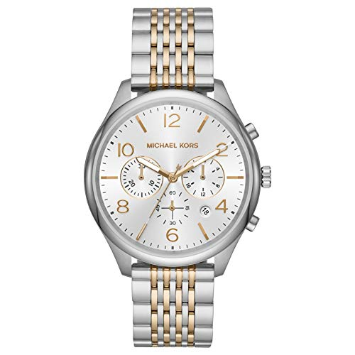 Michael Kors MK8660 Merrick Chronograph Two-Tone Stainless Steel Men's Watch