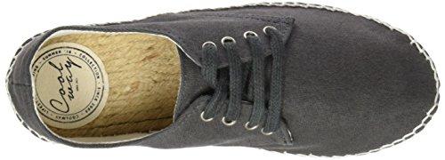 Coolway Jafari, Chaussures à lacets femme noir (BLK)