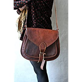 COOL STUFF Leather Purse Women handbag Messenger Bag Crossbody Satchel Women Shoulder Satchel Tote 14x10x4 inches