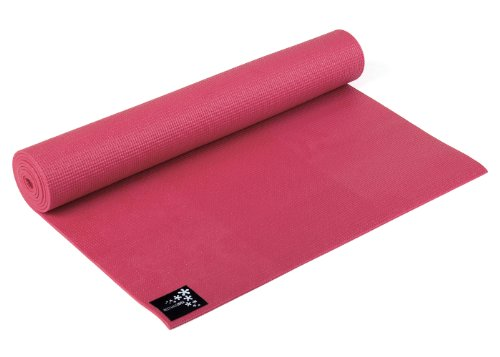 yogistar basic materassino da yoga, rosso (power red)