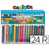Carioca - Caja con 24 rotuladores (A11105024)