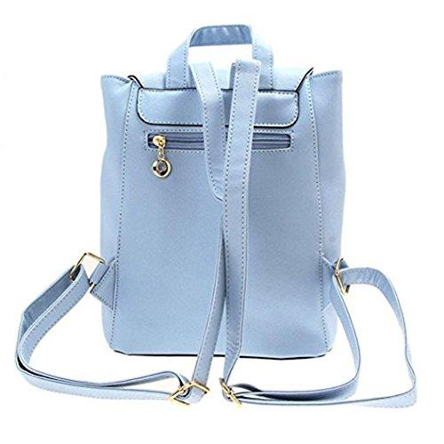 ZHOUBA, Borsa a zainetto donna, Blue (blu) - 0A095128D4FPY5527 Blue