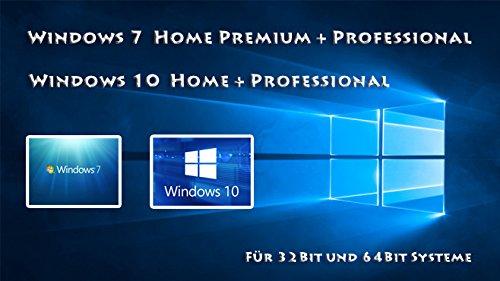 Windows 7 und 10 auf einem USB Stick
