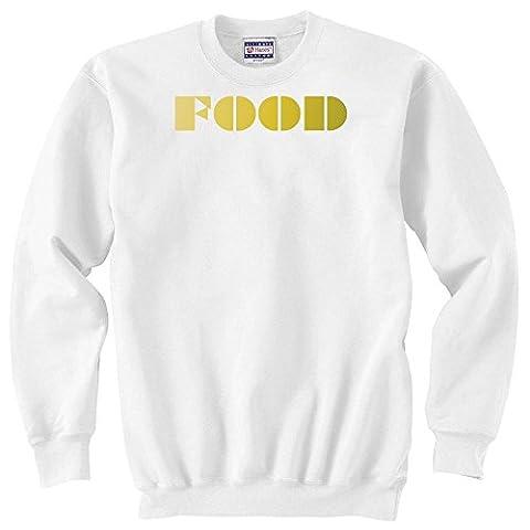 FOOD yellow coloured Unisex Sweater XX-Large