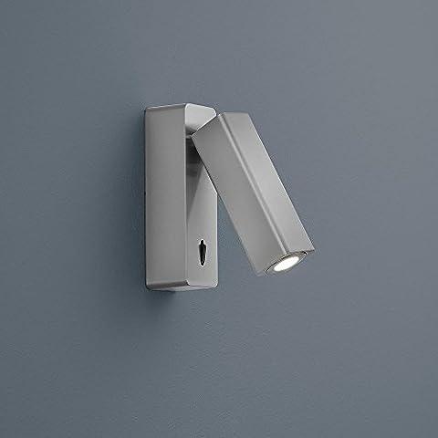 Helestra Pina LED de pared de níquel mate 18/1622.06
