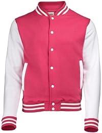 Kinder Jacke Sweat Varsity Jacket Angebot College Jacke Jungs Mädchen Girlie