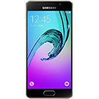 Samsung Galaxy A3 Smartphone (2016) (12 cm (4,71 Zoll) HD Super AMOLED Touch-Display, 16 GB, Android 5.1) gold