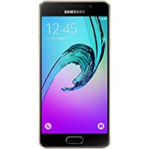 "Samsung Galaxy A3 (2016) - Smartphone de 4.7"" (Wi-Fi, Bluetooth, 16 GB, cámara de 13 MP, Android) color dorado"