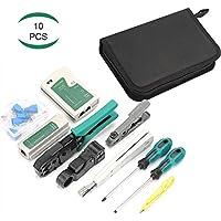 Kit de 10pcs de Herramientas de Reparación de Comprobador de Cable de Red, YEESON Mantenimiento