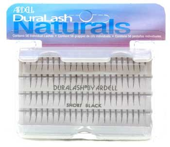 Ardell Naturals Short Black Knot Free Individual Flared Faux Cils
