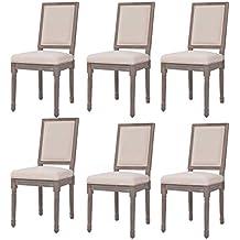 Amazon.es: sillas de comedor clasicas - Envío internacional elegible