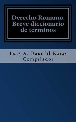 Derecho Romano por Luis Buenfil-Rojas