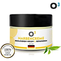 O³ Narbensalbe - Narbencreme 50gr - Stretch Marks Cream - Dehnungsstreifen Creme für Frauen nach Schwangerschaft... preisvergleich bei billige-tabletten.eu
