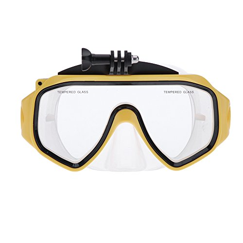 Andoer Schwimmbrille Tauchmaske Sea Underwater für GoPro Hero 4 Camera Support 3 3+ 3 2 1 Sjcam...