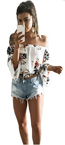 longwu-fashion-womens-off-shoulder-floral-printed-blouse-shirt-long-sleeve-casual-tops-white-s